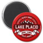 Imán del logotipo del Lake Placid