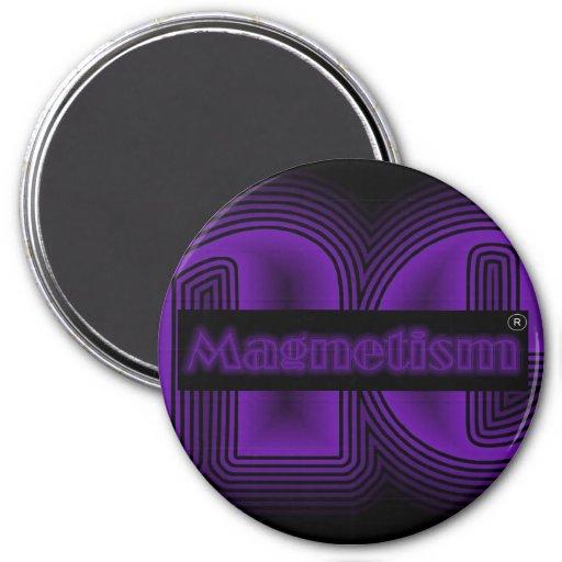 Imán del logotipo del magnetismo