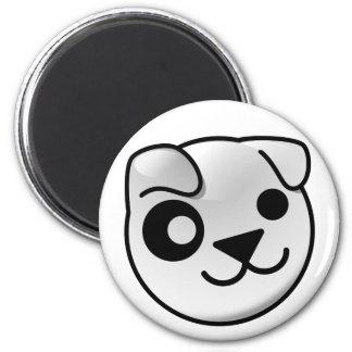 Imán del logotipo del perrito
