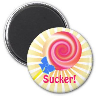Imán del Lollipop del lechón de Kawaii