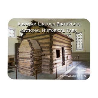 Imán del lugar de nacimiento de Abraham Lincoln
