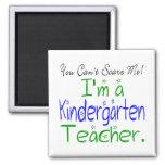 Imán del maestro de jardín de infancia