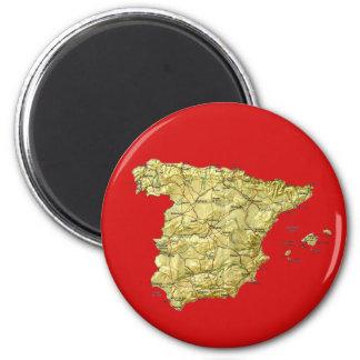 Imán del mapa de España