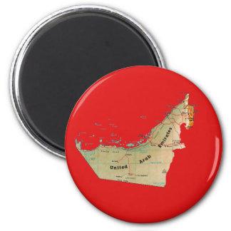 Imán del mapa de los UAE