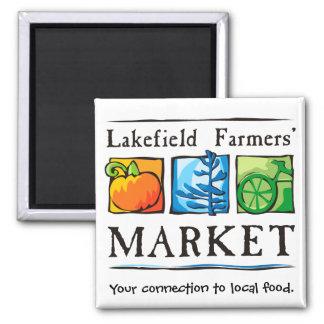 Imán del mercado de los granjeros de Lakefield