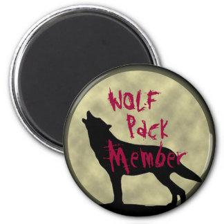 Imán del miembro de la manada de lobos