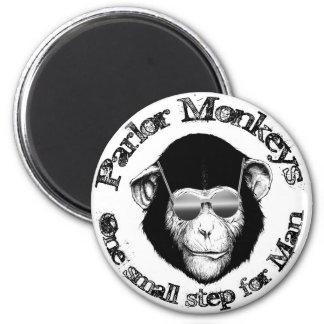 Imán del mono de la sala