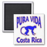 Imán del mono de Pura Vida Costa Rica