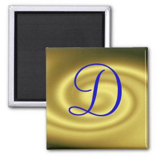 Imán del monograma D