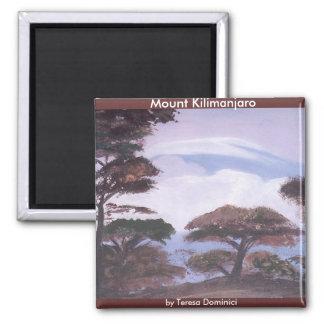 Imán del monte Kilimanjaro