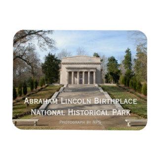 Imán del monumento del lugar de nacimiento de Abra