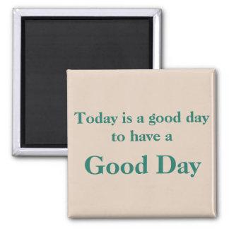 Imán del moreno del buen día