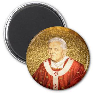 Imán del mosaico del papa Benedicto XVI