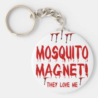 Imán del mosquito llavero personalizado