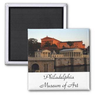 Imán del museo de arte de Philadelphia