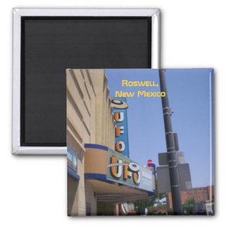 Imán del museo del UFO de Roswell (w/words)