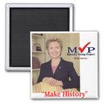 Imán del MVP Hillary Clinton