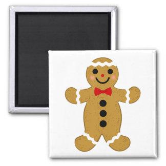 Imán del navidad de la galleta del pan de jengibre
