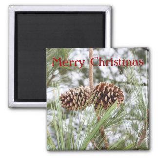 Imán del navidad del pino