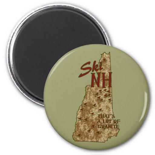 Imán del NH del esquí