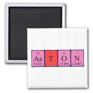 Imán del nombre de la tabla periódica de Aston