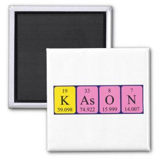 Imán del nombre de la tabla periódica de Kason