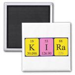 Imán del nombre de la tabla periódica de Kira