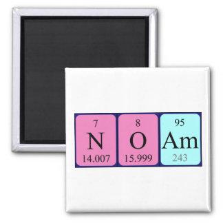 Imán del nombre de la tabla periódica de Noam