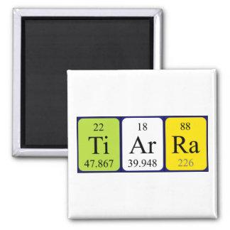 Imán del nombre de la tabla periódica de Tiarra