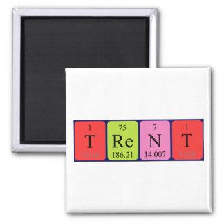Imán del nombre de la tabla periódica de Trent