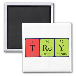 Imán del nombre de la tabla periódica de Trey