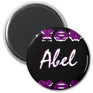 Imán del nombre del diseñador de Abel - personaliz