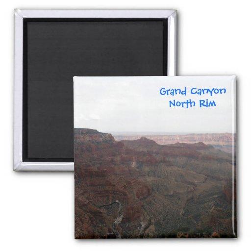 Imán del norte del borde del Gran Cañón