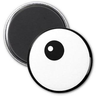 Imán del ojo de Kawaii