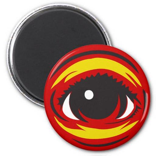 Imán del ojo - rojo