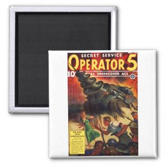 Imán del operador #5 del servicio secreto