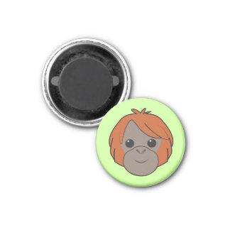Imán del orangután de Sumatran