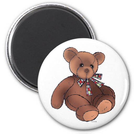 Imán del oso de peluche