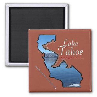 Imán del oso del esquema del estado del lago Tahoe