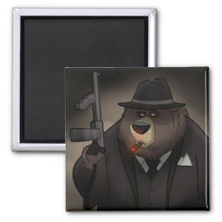 Imán del oso del gángster