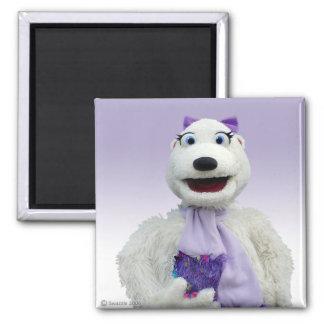 Imán del oso polar de Polly