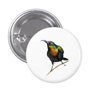 Imán del pájaro pin redondo 2,5 cm