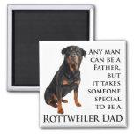 Imán del papá de Rottweiler