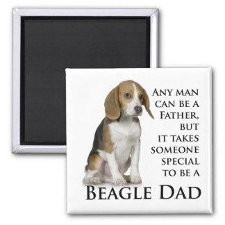 Imán del papá del beagle