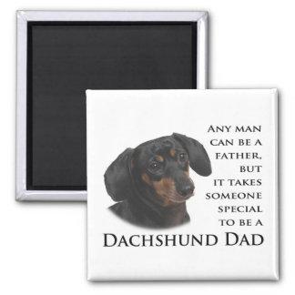 Imán del papá del Dachshund