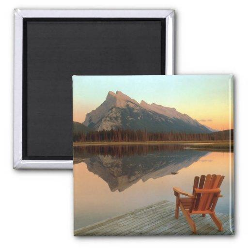Imán del parque nacional de Banff