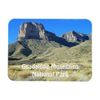 Imán del parque nacional de las montañas de Guadal