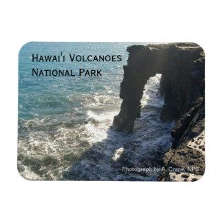 Imán del parque nacional de los volcanes de Hawaii