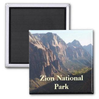 Imán del parque nacional de Zion