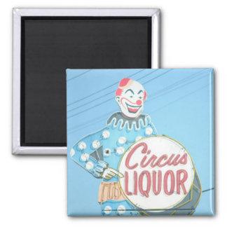 Imán del payaso del licor del circo